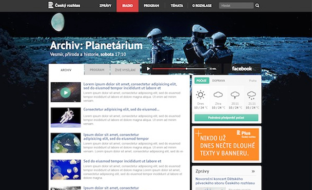 Pianomedia.eu - webdesign